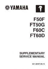 Yamaha 6C1-28197-3N-1X Service Manual (Supplement To 6C1-28197-3G-11)